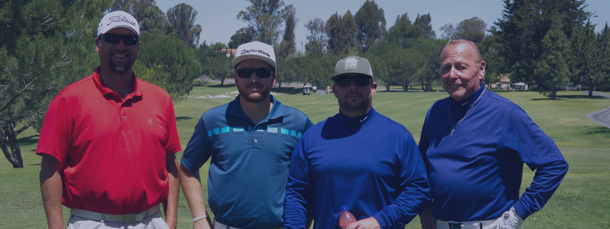 Participants in Charles D. Perriguey Jr. Charity Golf Tournament