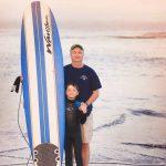 ASA Director Dave Henderson with son Cayden